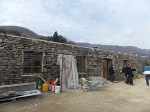 "Restoration Mount Athos Sacred Koutloumousianon Cell ""Great Holy Virgin-Mary"""